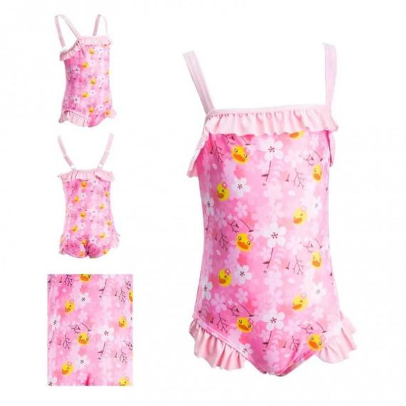 女童 B. Duck 泳衣 - 粉紅