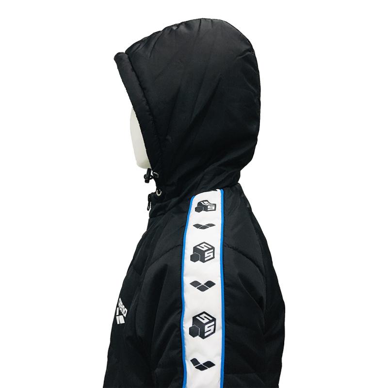 上水鎖溫夾克 - 黑/藍