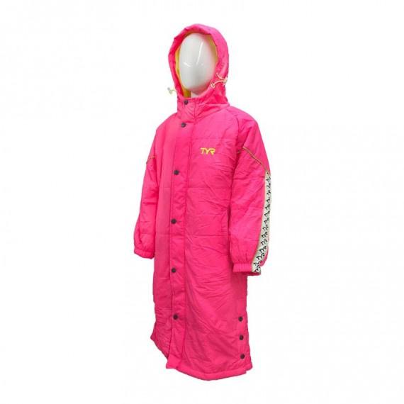 兒童上水保溫褸 - 粉紅/黃