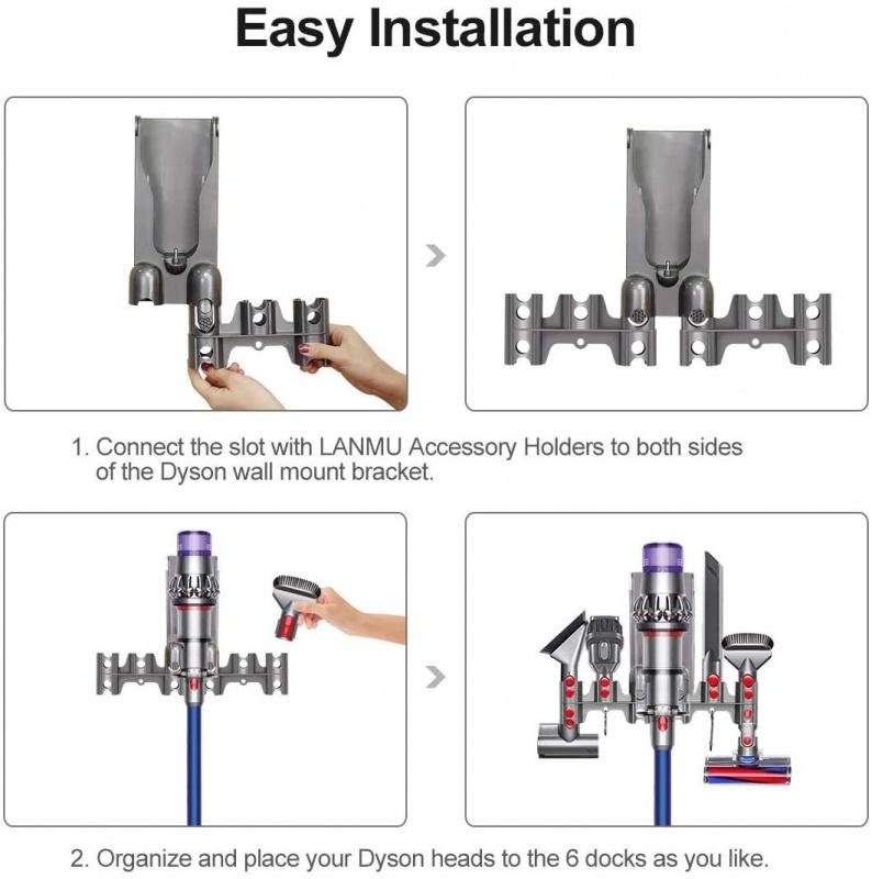 吸塵器配件支架 V11 V10 V8 V7吸塵器附件底座工具收納架