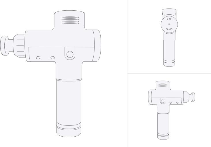 Hyperice Hypervolt (With Bluetooth) 深層筋膜按摩槍