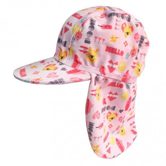 兒童小熊維尼防囇帽 - 粉紅
