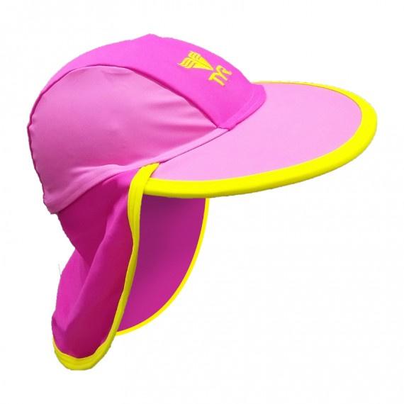 兒童防曬帽 - 粉紅