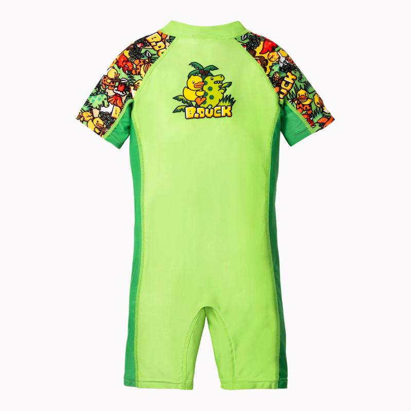 兒童連身防曬衣 - 恐龍