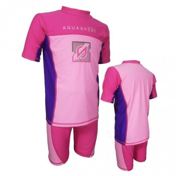 兒童防曬套裝 - 玫瑰/粉紅
