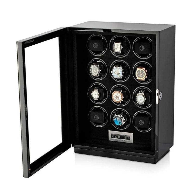 M-Plus Watch Winder #自動旋轉 靜音自動上鏈錶盒 (12錶位)🌀⌚️
