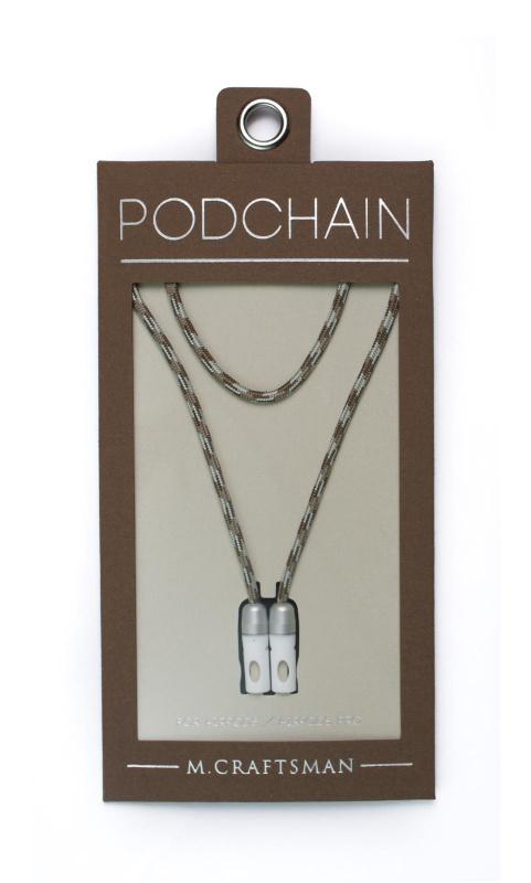 M.Craftsman - PodChain 磁性保護套 AirPods / Pro Hook項鍊 - Knit