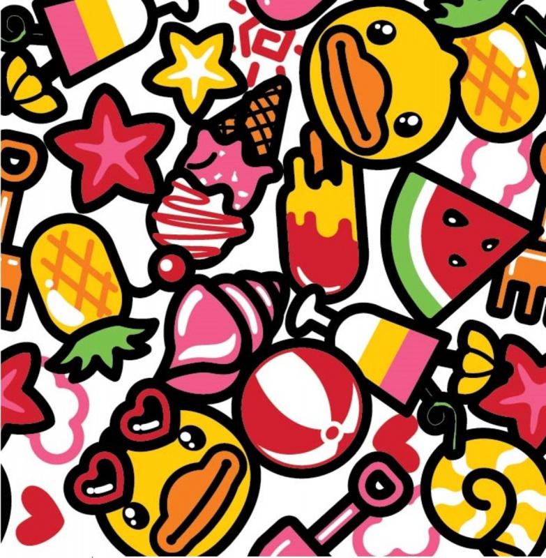 兒童防曬套裝 - 水果