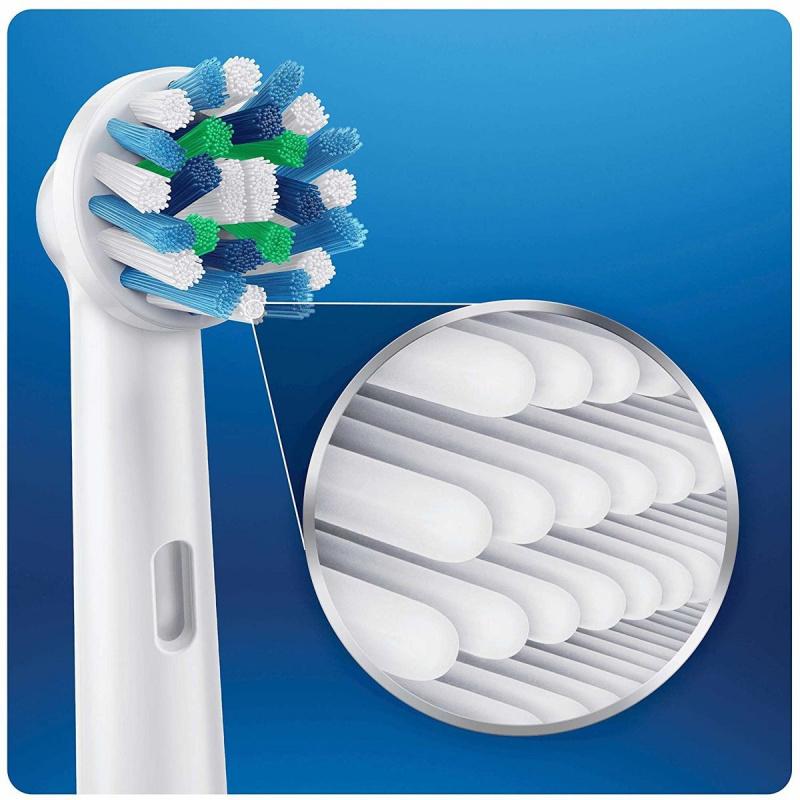 Oral-B - EB50 Cross Action (10支裝)電動牙刷替換 多動向交叉刷頭白色