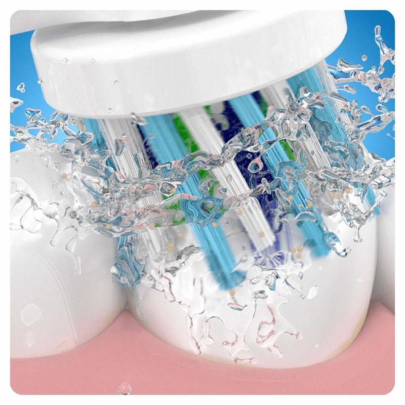Oral-B EB50 Cross Action (4支裝) 白色電動牙刷替換 多動向交叉刷頭
