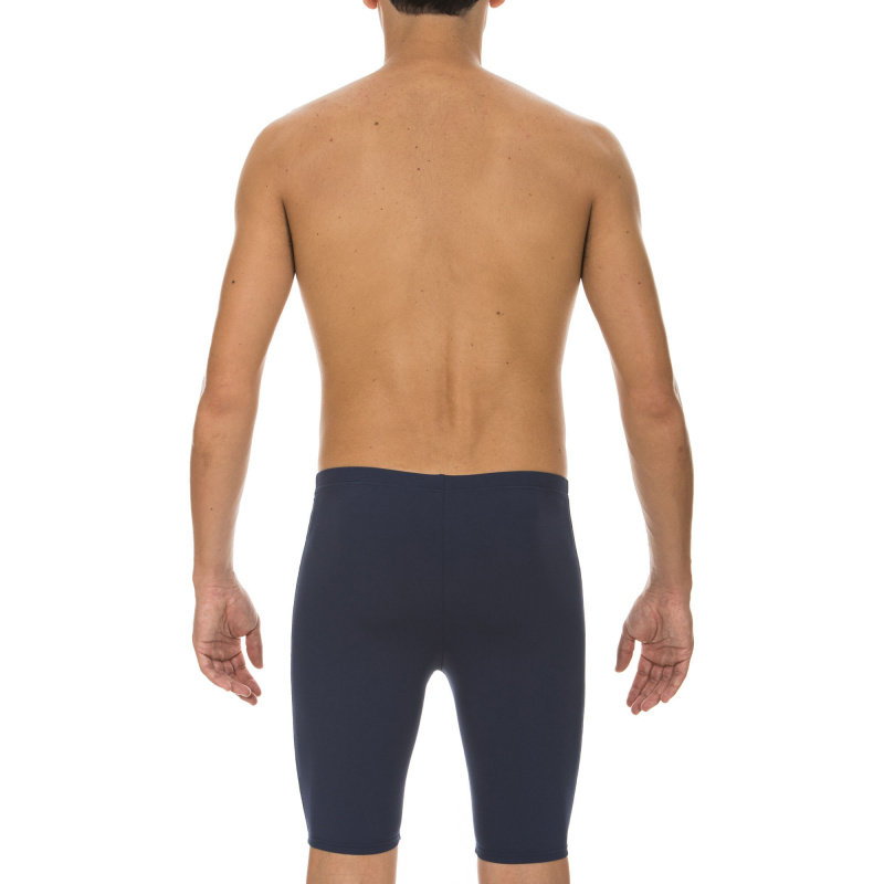 男子基礎訓練五分泳褲 - 深藍
