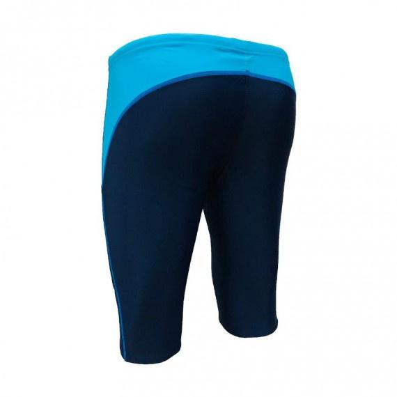 男子五分泳褲 - 深藍/藍