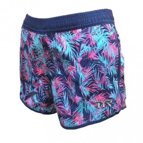 女裝快乾沙灘褲 - 熱帶雨林