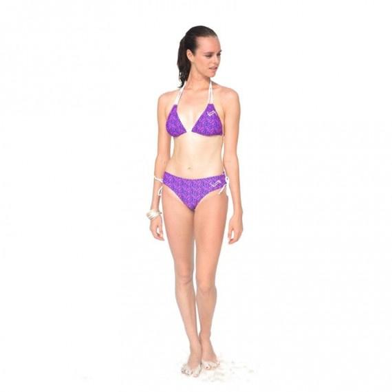 女士比堅尼 Neon Marine - 紫/粉紅
