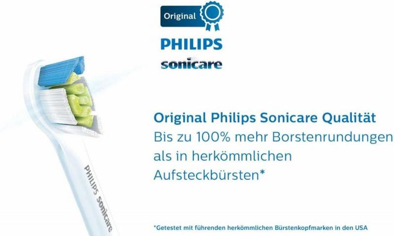 Philips Sonicare W2C 精細型 (4支裝)牙刷刷頭 HX6074