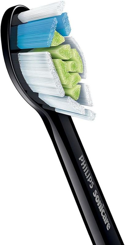Philips Sonicare DiamondClean W2 (黑色8支裝)聲波牙刷刷頭 HX6068/13