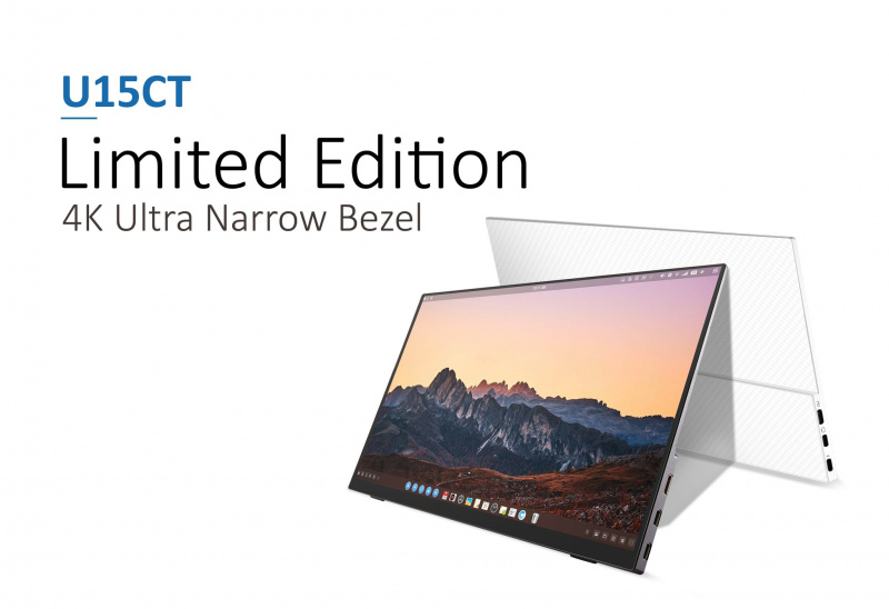 Better DiGi imited Edition 4K Portable Touch Screen Monitor (U15CT)