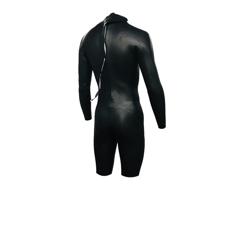 3.5mm 成人韓國製氯丁橡膠連身防寒衣 - 黑