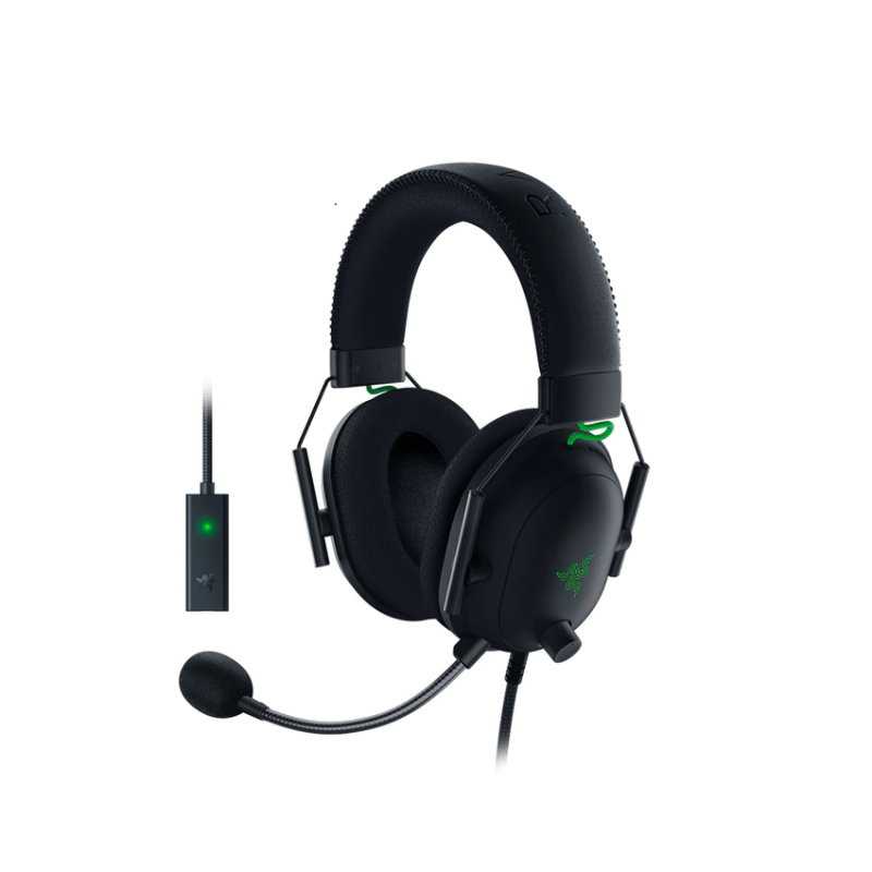 Razer BlackShark V2 Wired Gaming Haedset with USB Sound Card