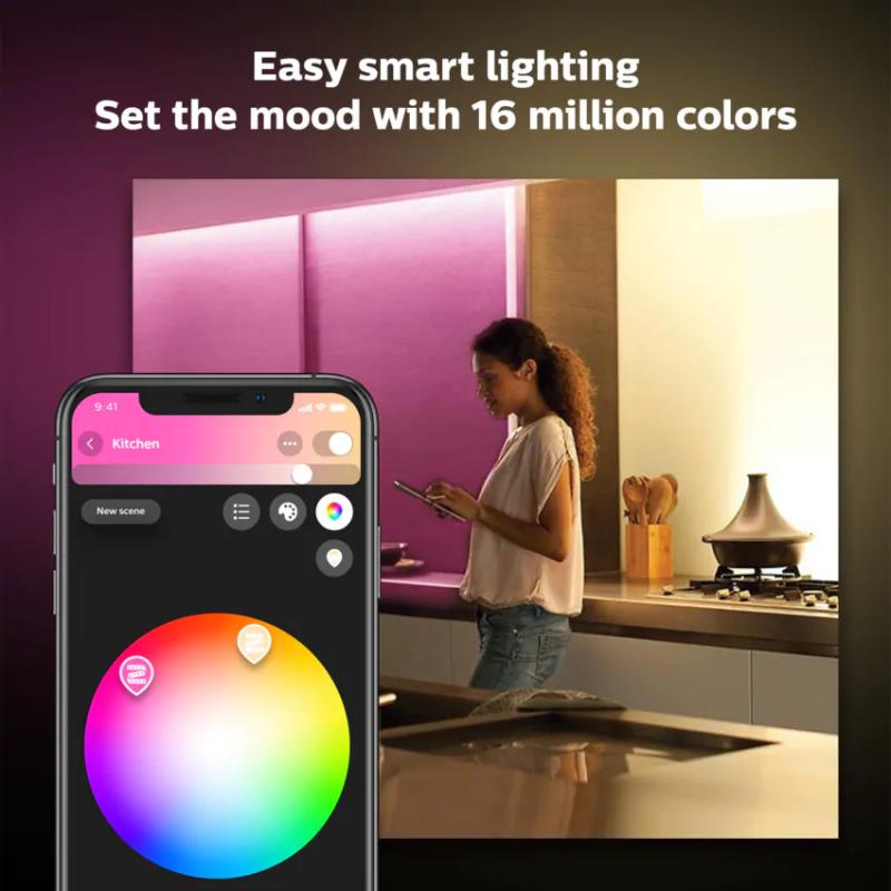 Philips 飛利浦 Hue Lightstrip Plus version 4 1m Extension (藍牙版)