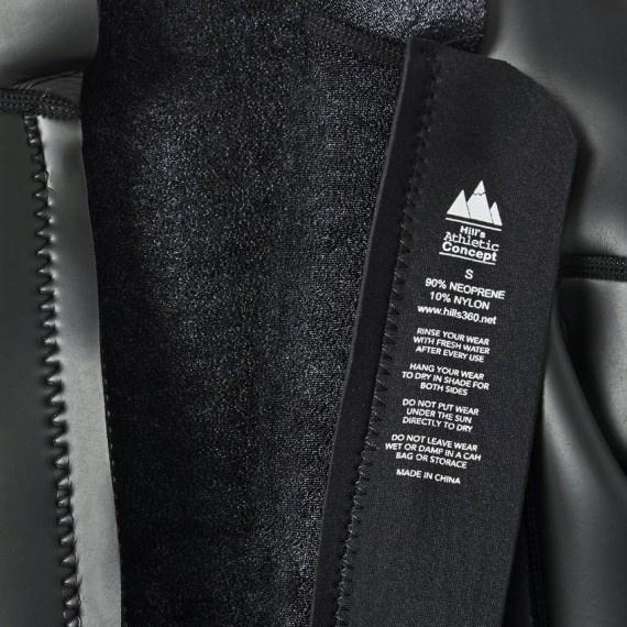 3.0mm 成人氯丁橡膠防寒夾克 - 黑