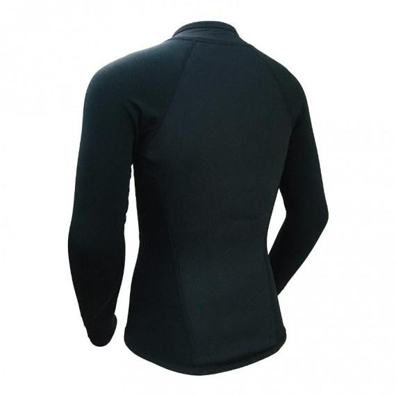 成人高級氯丁橡膠&抓毛保暖夾克 - 黑