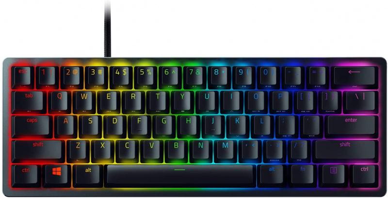 Razer Huntsman Mini 60%光軸電競鍵盤 (黑色)