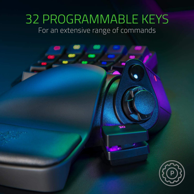 Razer Tartarus Pro Gamepad (Analog Optical Switches)