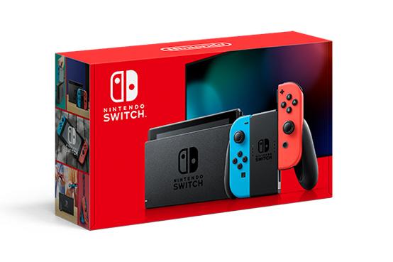 任天堂 Nintendo 電池加長版Switch紅藍機