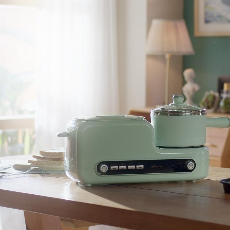 Bear 小熊 家用多功能早餐機 煮烘煎烤烙蒸 DSL-A02H3