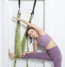 空中瑜伽繩倒立伸展帶