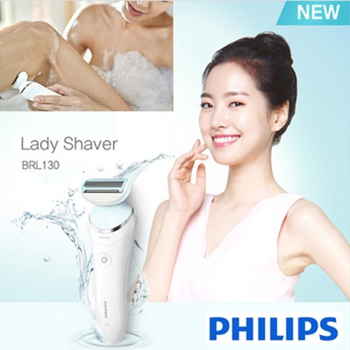 Philips 飛利浦 SatinShave Advanced 乾濕兩用電動除毛刀 BRL130