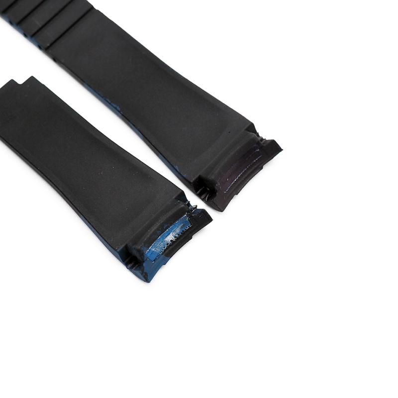 20mm Rolex 藍迷彩色 Curved Ends 代用膠帶