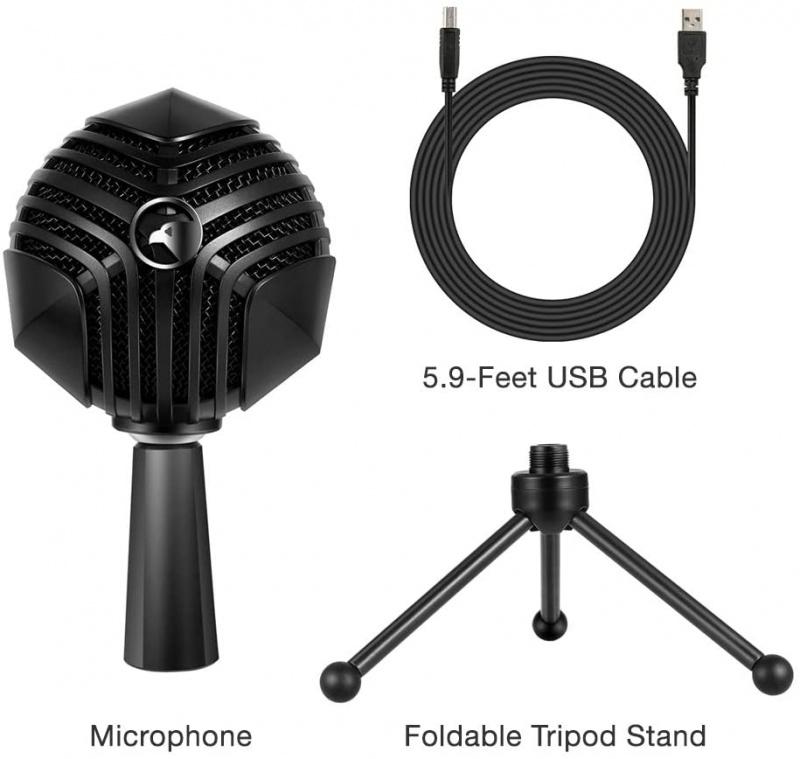 Yanmai GM 888 USB 會議,網上課堂 電容麥克風 Condenser Microphone