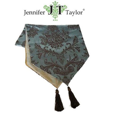Jennifer Taylor - 皇室優雅花紋桌旗 Size M 30 X 120
