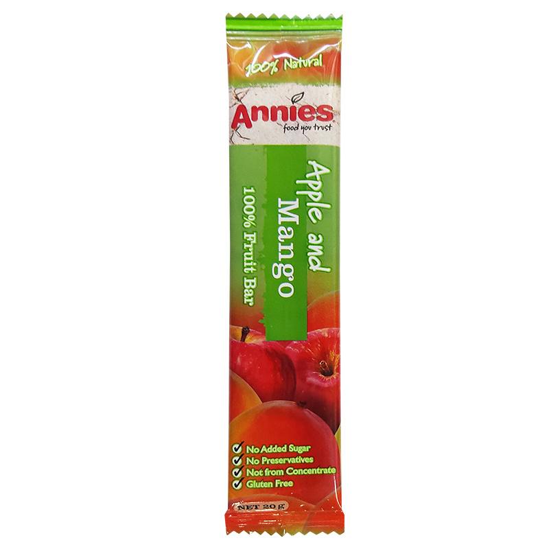 紐西蘭Annie's 無麩質 芒果味乾水果條 20g 【市集世界 - 澳紐市集】