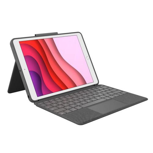 Logitech Combo Touch 保護殼 (iPad第7代及最新第8代可用)