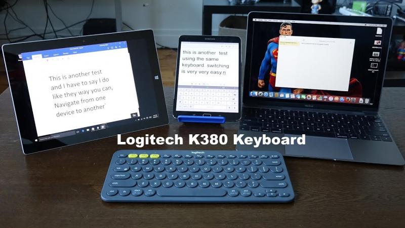 Logitech 便攜式藍牙 鍵盤 K380⌨️