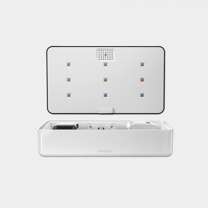 Energea Stera360 UVC + UVA LED消毒盒無線充
