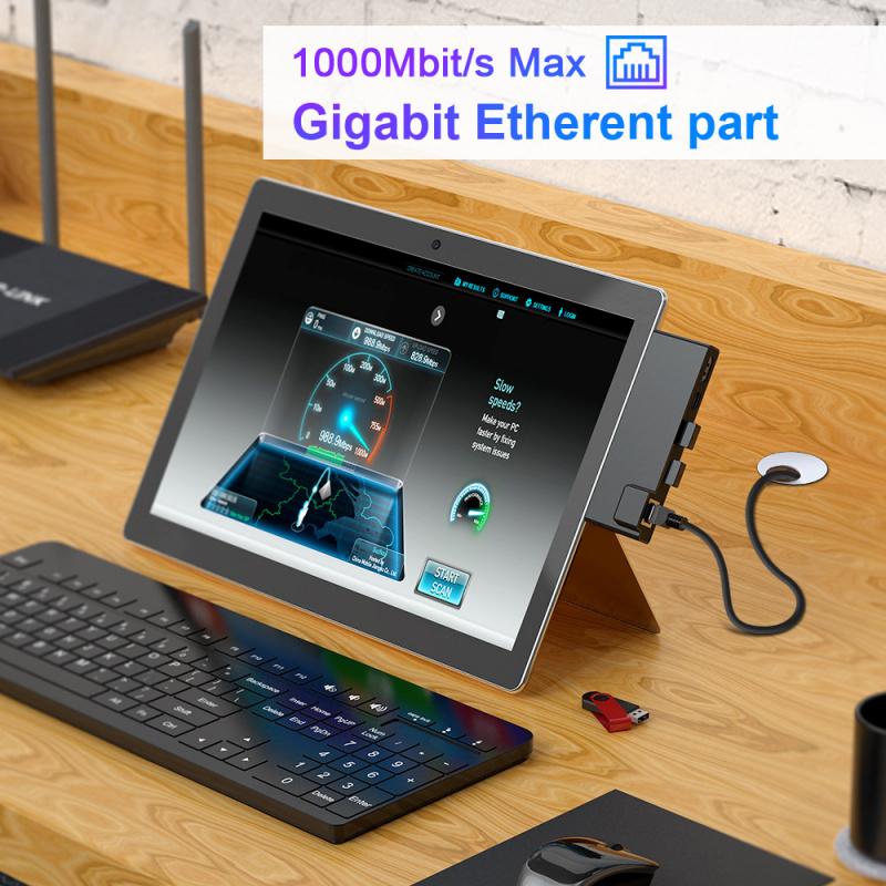 MicroSoft Surface Pro 7 RJ45 7合1配接器