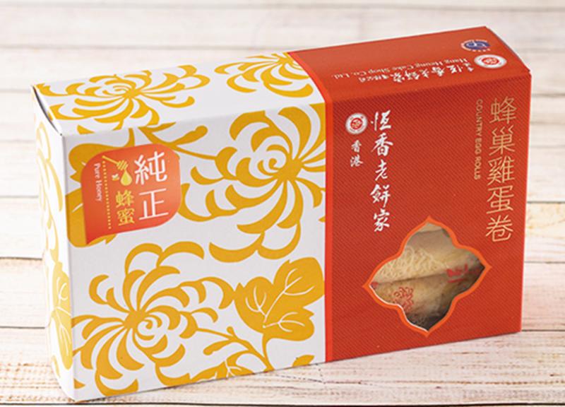 純正蜂蜜蛋卷10支盒裝 Pure Honey Egg Rolls (10pcs/Box)
