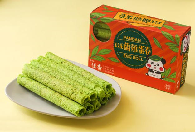 班蘭雞蛋卷10支盒裝Pandan Egg Roll (10pcs/Box)