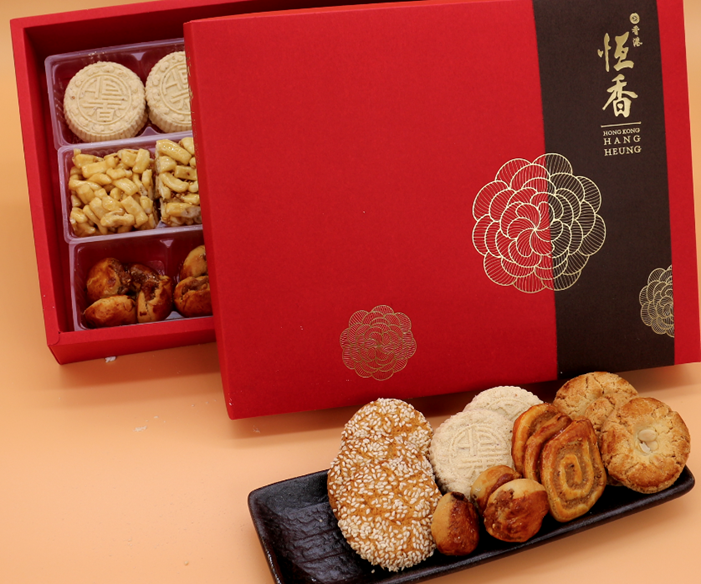 恆香中式雜錦賀年禮盒Assorted Chinese Cakes & Shortbread Set