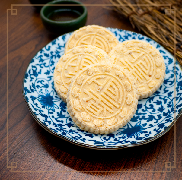 杏仁餅 (24件/罐)Almond Cake (24/Tin)