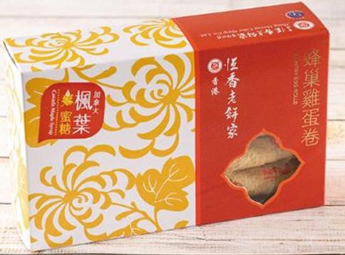 加拿大楓葉蜜糖蛋卷10支盒裝