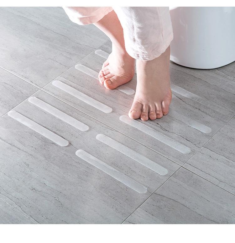 5pcs 透明防滑條 防滑條紋 浴缸 浴室