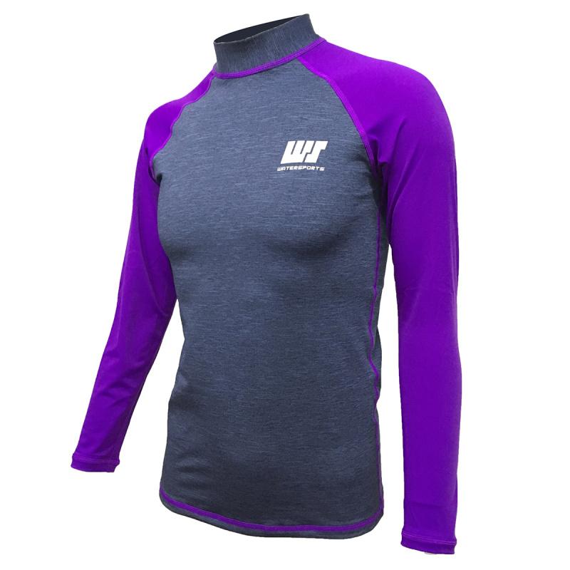 1.0mm 成人抓毛保暖防曬上衣 - 紫