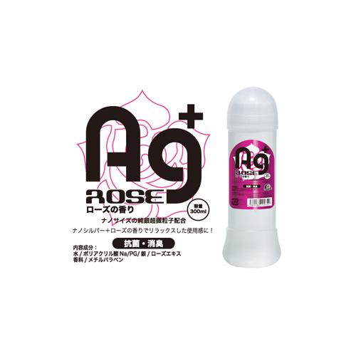 AG+銀粒子抗菌消嗅玫瑰味潤滑液