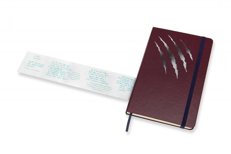 MOLESKINE 限量美女與野獸横間大型筆記事本手帳 LIMITED EDITION NOTEBOOK BEAUTY & BEAST LARGE RULED