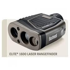 Bushnell Elite 1600 7x26 Black Horizontal Rangefinder